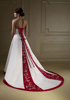 свадьба в красном цвете фото 4-1