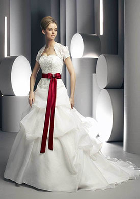 свадьба в красном цвете фото 4-2