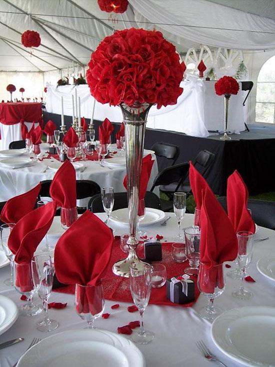 свадьба в красном цвете фото 7