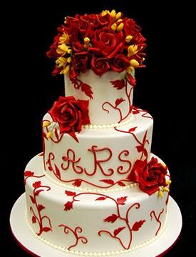 свадьба в красном цвете фото 10-2