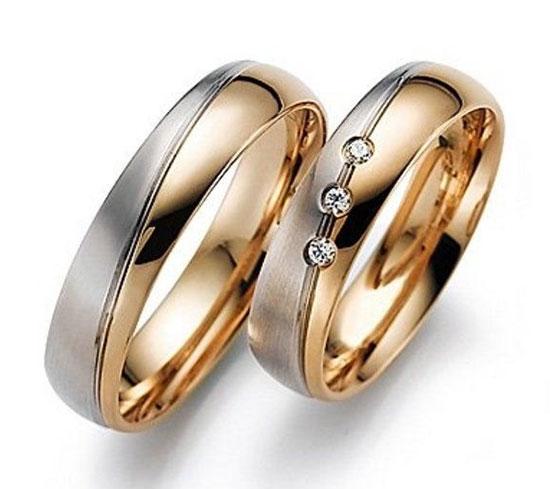 мужские кольца золото и серебро