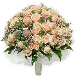 Букет невесты из роз с фото