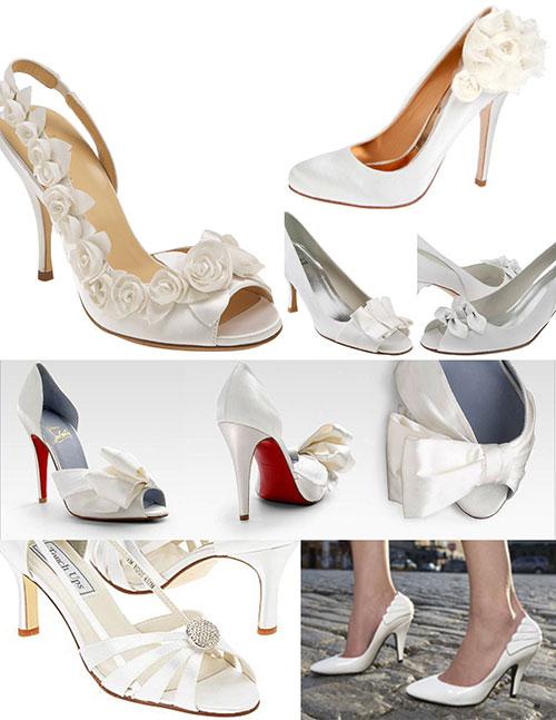 Свадебная обувь: фото и советы как выбрать обувь на свадьбу