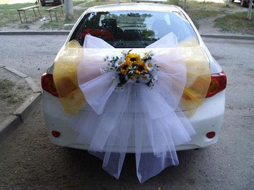 Как украсить авто на свадьбу своими руками