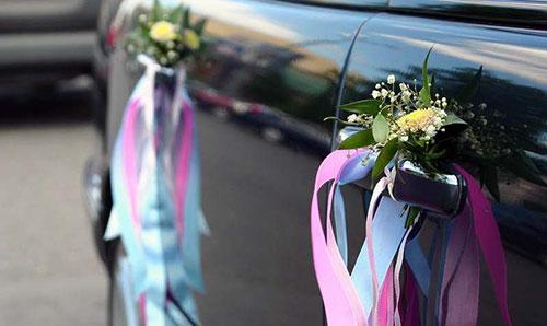 Оформление машины своими руками на свадьбу