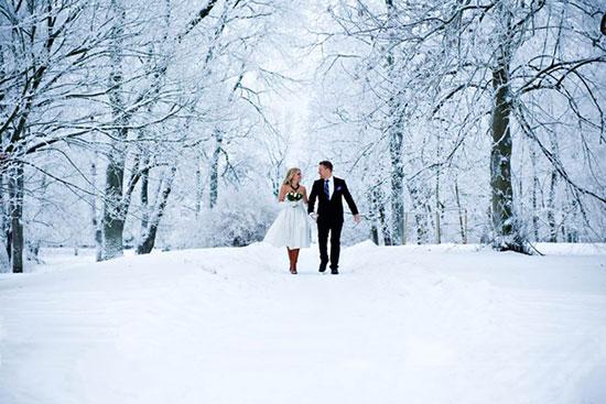 Свадьба зимой фото 1