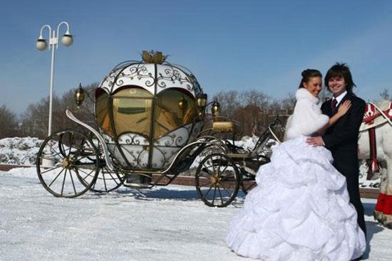 свадьба зимой фото 12