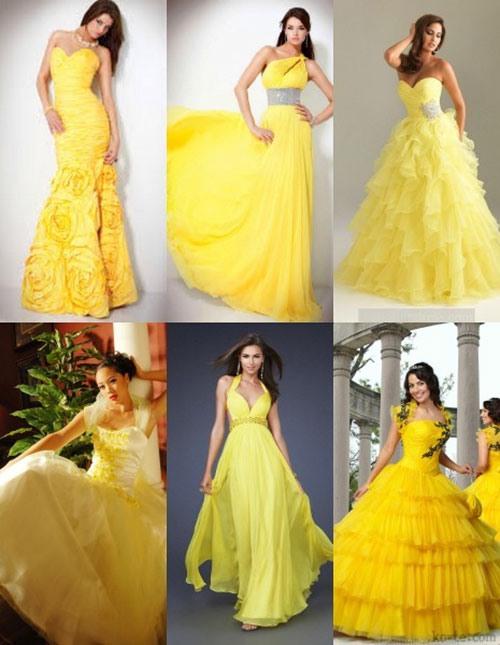 Желтое платье приметы