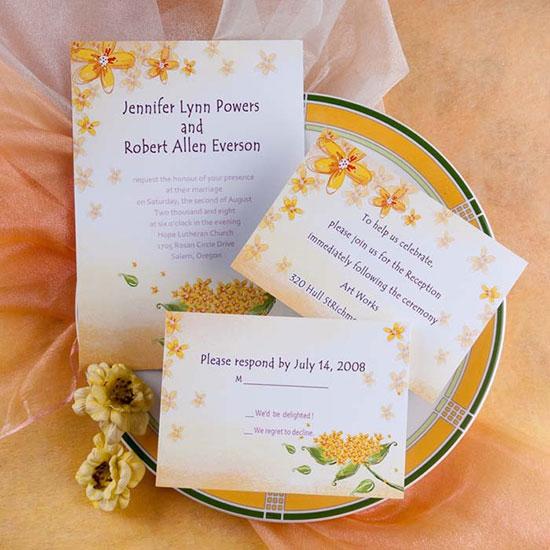 Свадьба в желтом цвете фото 5