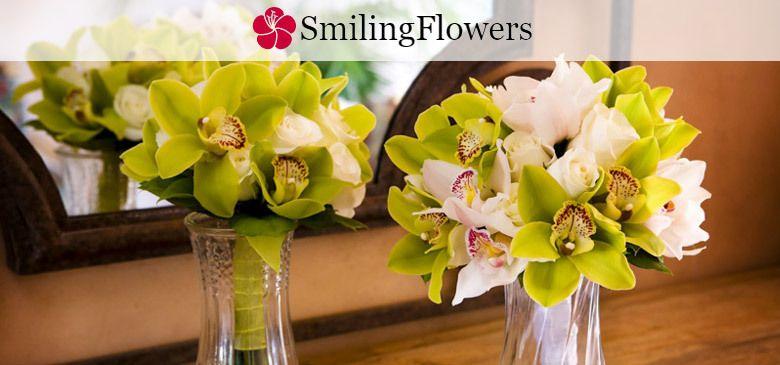 Свадебные букеты от SmilingFlowers
