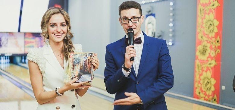 Ведущий Олег Коробов