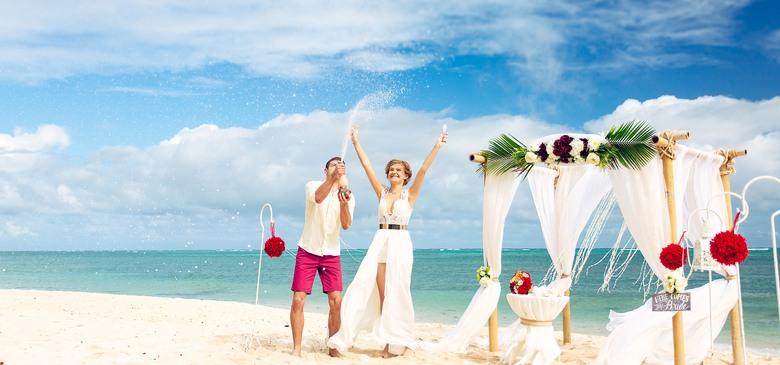 Свадьба в Доминикане от Два Банана