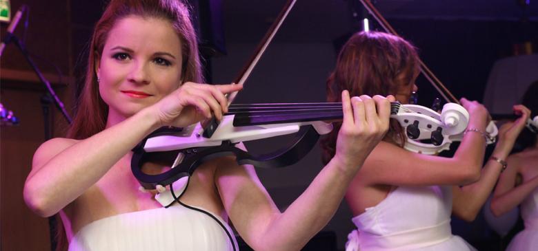 Elena Kostas - шоу - скрипачка, электроскрипка