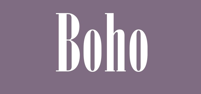 Boho, Свадебный салон