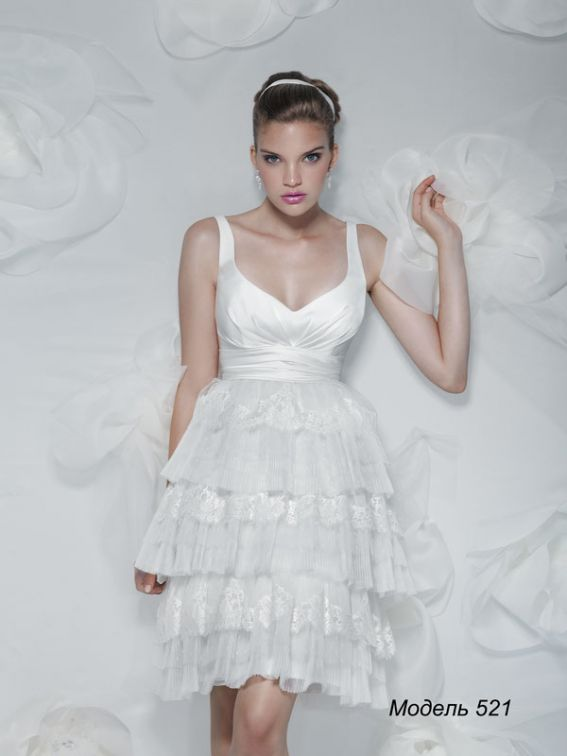Короткие свадебные платья томск 9