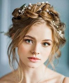 Причёска на свадьбу фото