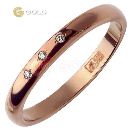 свадебное кольца белое золото