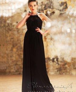 Світла чайка  - весільний стиль та вечірня мода. Колір сукні  Чорний Довжина  сукні  Довге Фасон плаття  Ампір (грецьке) Додатково  відкрите 38bf234050ea2
