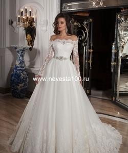 Весільні плаття кольору айворі в весільних салонах Москви   Свадебное  платье Soprano Весільна сукня Soprano fb74d340bf5a0