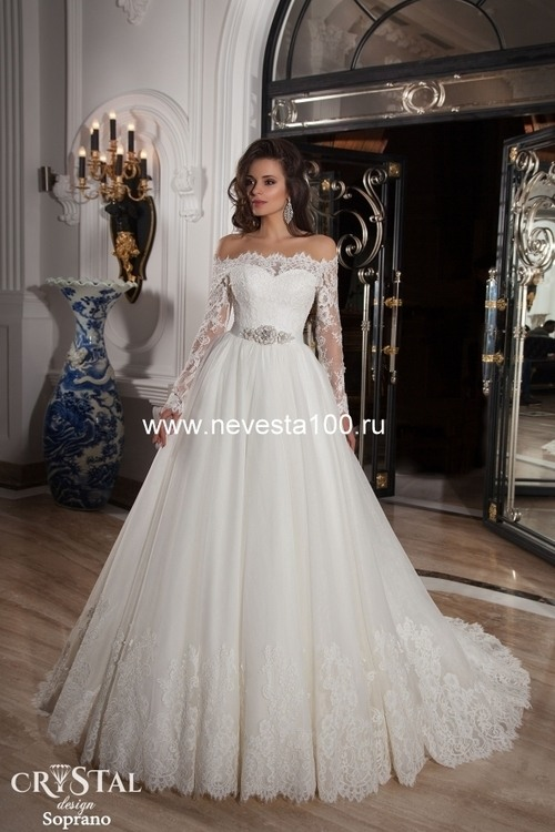 Свадебное платье Soprano от компании Свадебный салон Невеста 100
