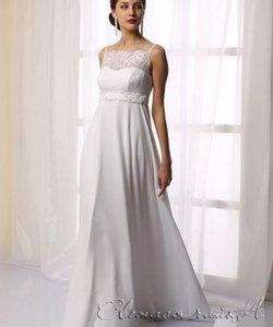 Колір сукні  Білий   Слонова кістка. Довжина сукні  Довге Фасон плаття   Ампір (грецьке) Додатково  для вагітних e80c746eca935