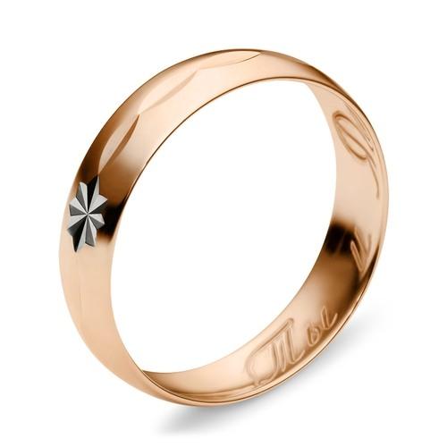 обручальное кольцо золото серебро