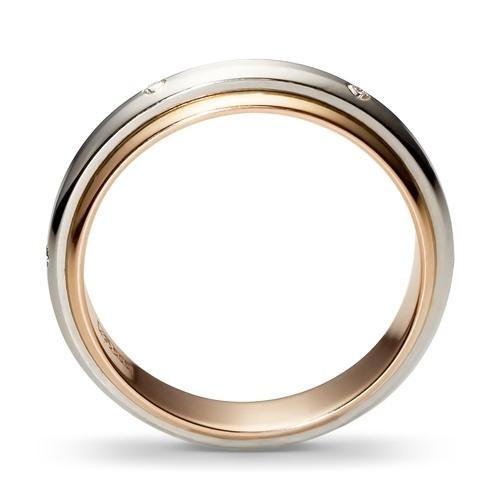 свадебные кольца белое золото цена