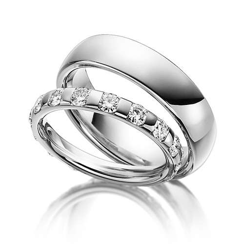 af5e638c0c1e Обручальные кольца c бриллиантами в Москве - цена 112000 ₽, белое ...