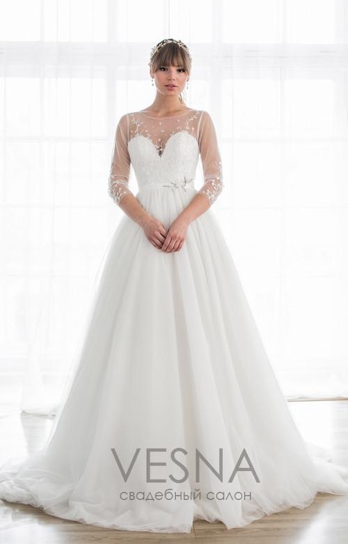 2df39291ff2e481 Свадебное платье Августина в Санкт-Петербурге - цена 46000 ₽, фасон ...